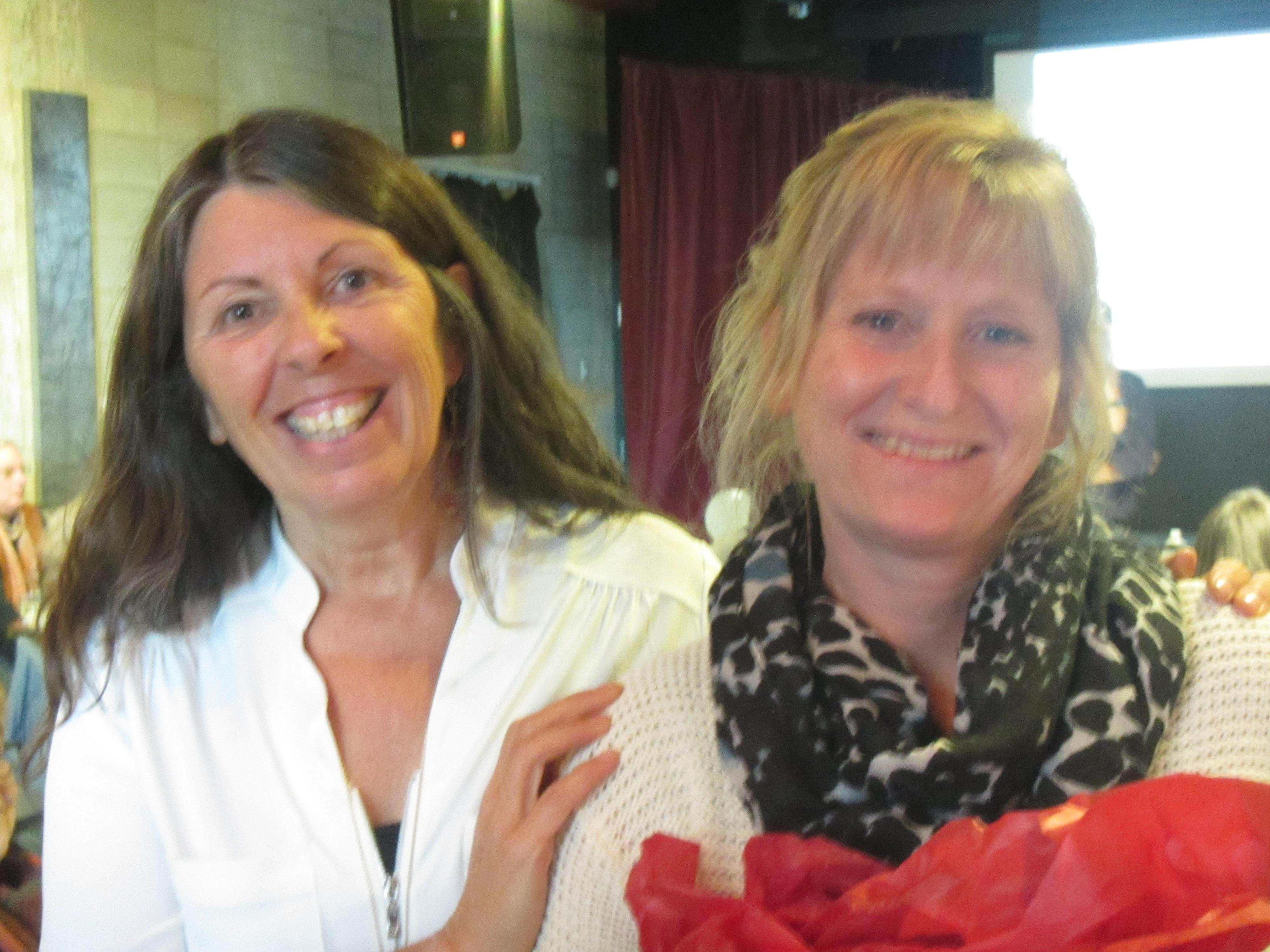 Lucie Gagnon et Nadine Robert