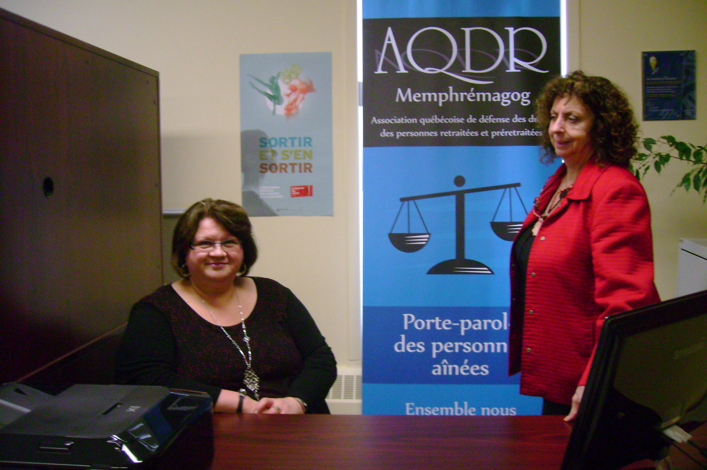 Association québécoise de défense des droits des personnes retraitées et semi-retraitées - Section Memphrémagog